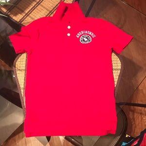 A&F kids polo shirt size 7/8